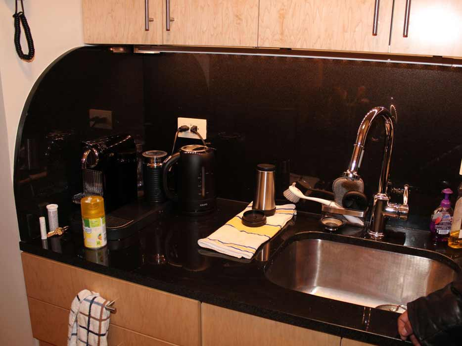 Full Kitchen remodelation, including cabinets and granite countertop.